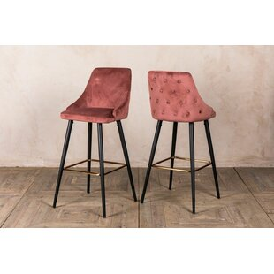 Rosette 76cm Bar Stool (Set Of 2) By Peppermill AntiquesLtd