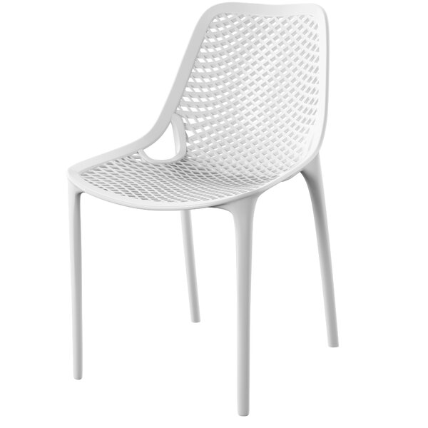Curnutt Stacking Patio Dining Chair Amp Reviews Allmodern