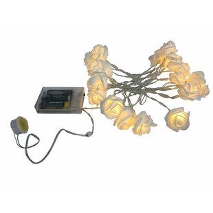 House of Hampton Ranee 10.33 ft. 20-Light Lantern String Lights
