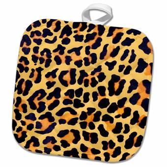 East Urban Home Leopard Potholder Wayfair