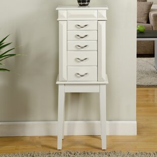 Find a Granada Jewelry Armoire with Mirror ByWildon Home ®