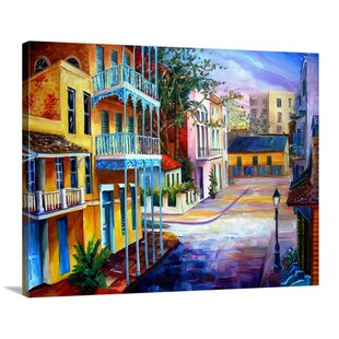 Architecture Home Decor Sparkling French Quarter Poster Art Print
