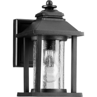 Charlton Home Eastbourne 1-Light Outdoor Wall Lantern