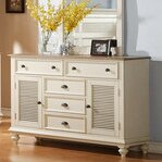 Lark Manor Quevillon 5 Drawer Combo Dresser