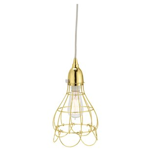 Colbourne Wire 1-Light Geometric Pendant by Mercer41