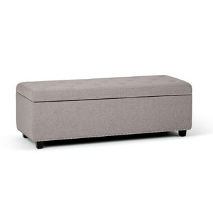 Burrus Tufted Storage Ottoman by Charlton Home