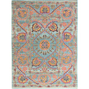 Ashburn Blue Area Rug