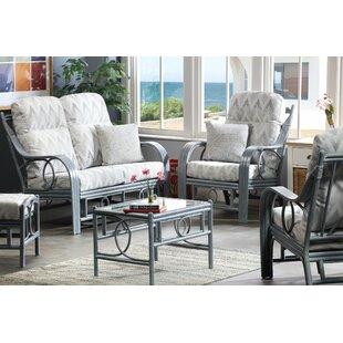 Valeria 5 Piece Conservatory Sofa Set By Beachcrest Home