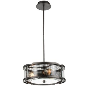 CWI Lighting Monroe 3-Light Pendant