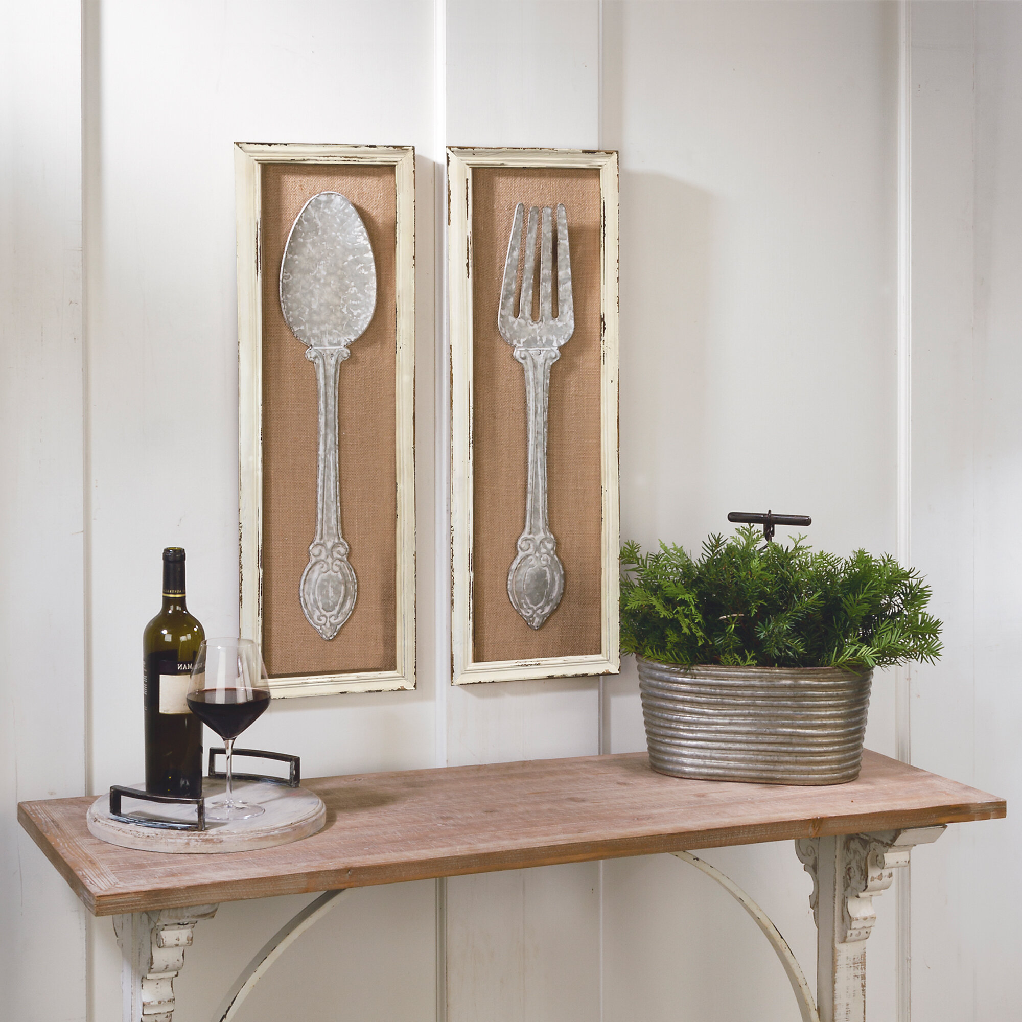 Piece Spoon And Fork Wall Decor