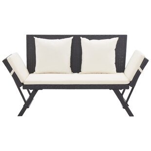 Cushioned Outdoor Benches Free Shipping Over 35 Wayfair