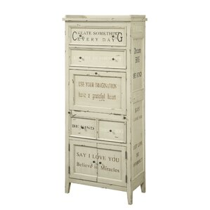 bowen 4 drawer 3 door accent cabinet - Accent Chests