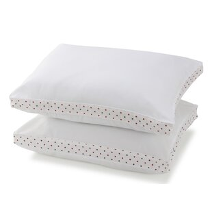 Stars Garnetted Polyester Standard Pillow (Set of 2)