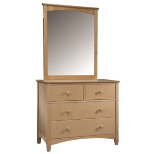 Bonneau 4 Drawer Dresser with Mirror