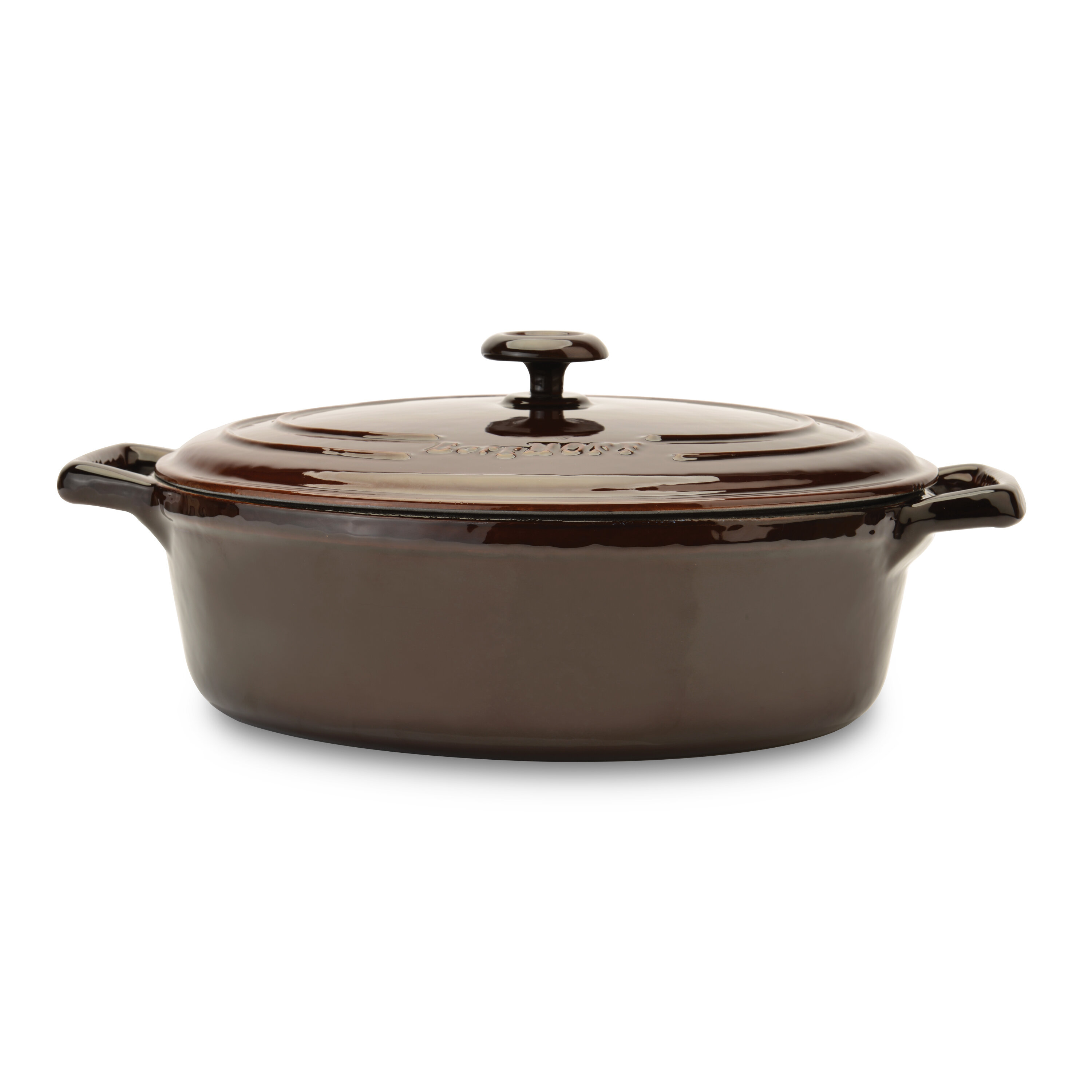 Berghoff International Neo 4 8 Qt Cast Iron Oval Covered Casserole With Lid Wayfair