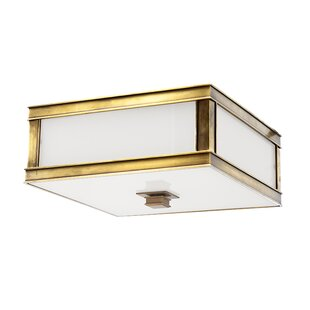 Bloomsbury Market Destanee 2-Light Flush Mount