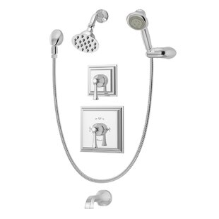 Symmons Canterbury Tub and Shower Faucet with Trim and Aerating