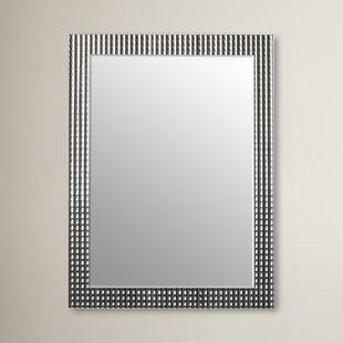 Willa Arlo Interiors Glam Rectangle Metal Frame Wall Mirror