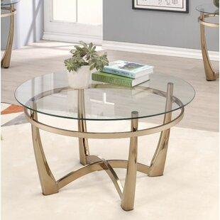 Orren Ellis Doher Attractive Coffee Table