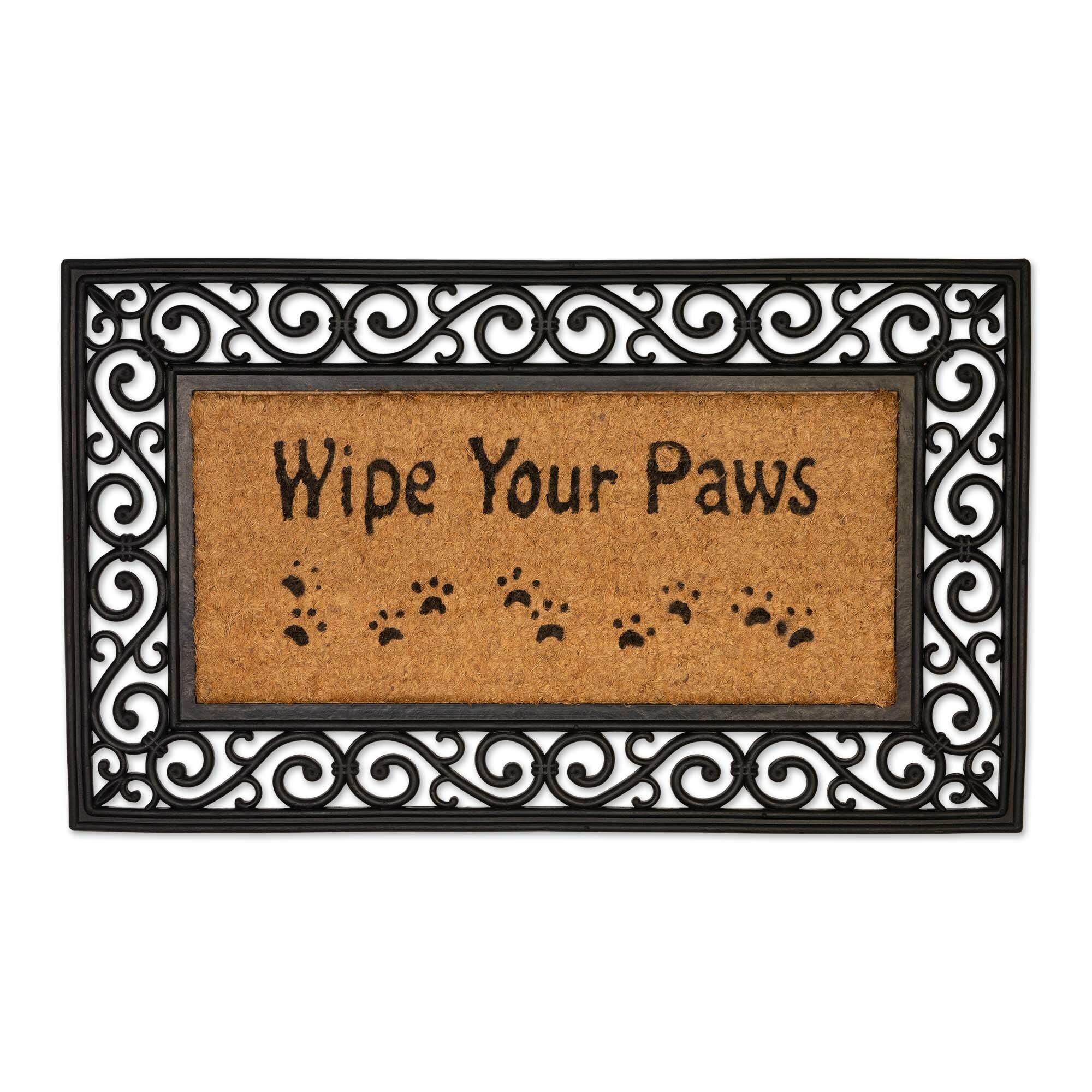 Darby Home Co Raci Wipe Your Paws Non Slip Outdoor Door Mat Wayfair Ca