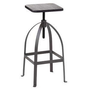 Urban Unity Simon Adjustable Height Bar Stool by Sunpan Modern