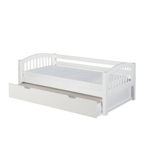 Read Reviews Oakwood Bed With Trundle by Harriet Bee Reviews (2019) & Buyer's Guide