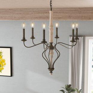 Lark Manor Galette 6-Light Chandelier