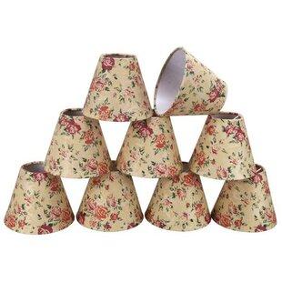 6 Fabric Empire Candelabra Shade (Set of 9)