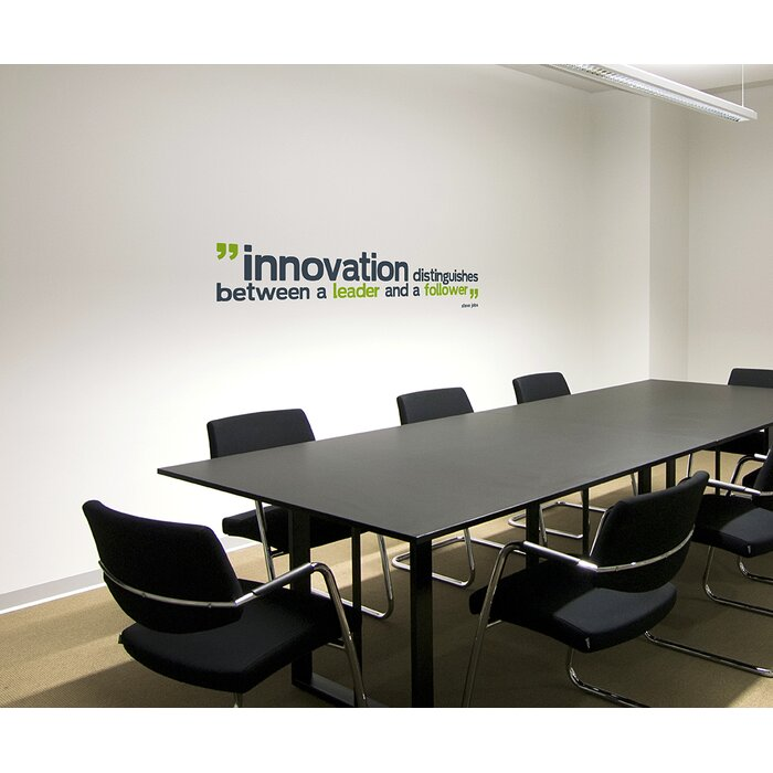 office deco. Office Deco Transfer Innovation Distinguishes Wall Decal A
