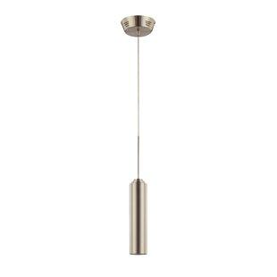Omni 1-Light Cylinder Pendant by Kendal Lighting