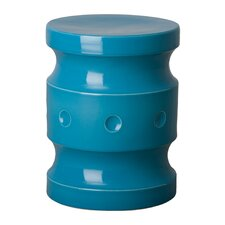 Bria Spindle Accent Stool by Brayden Studio