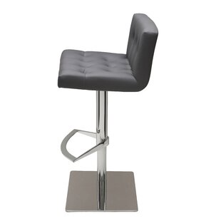 Purchase Adjustable Height Swivel Bar Stool by Nuevo Reviews (2019) & Buyer's Guide