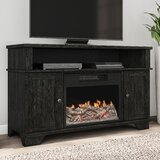 Elosie TV Stand for TVs up to 50 with Electric Fireplace Included by Millwood Pines