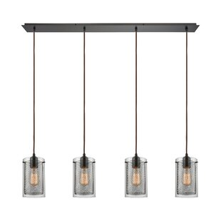 17 Stories Acacia 4-Light Kitchen Island Pendant
