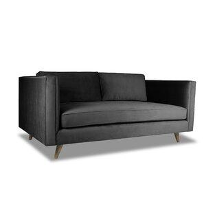 Latitude Run Mukatiwala Plush Deep Sofa