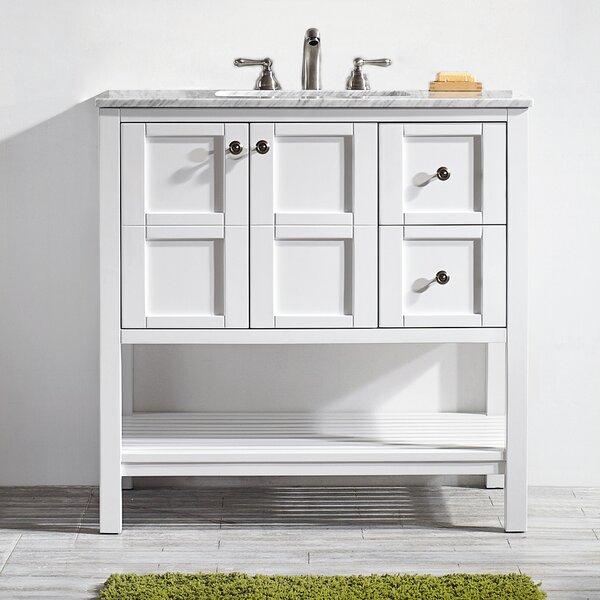 Bathroom Vanity With Shelf | Wayfair