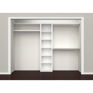 "SpaceCreations 44"" W - 115"" W Closet System"