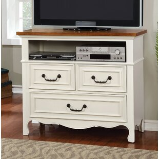Alcott Hill Tova 3 Drawer Media Chest