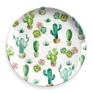 Omer Round Melamine Platter