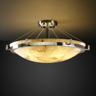 Keyon 6-Light Semi Flush Mount by Brayden Studio