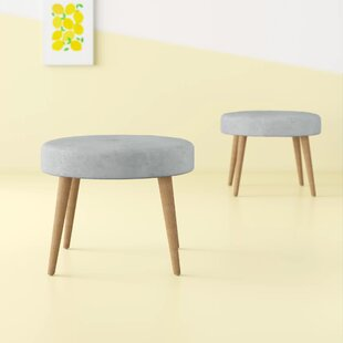 Maire Tufted Ottoman (Set of 2) by Hashtag Home