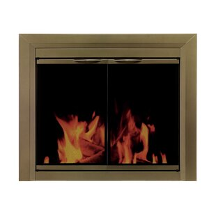 Cahill Cabinet Style Steel Fireplace Doors by Pleasant Hearth