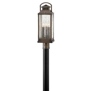 Revere Outdoor 3-Light Lamp Post by Hinkley Lighting