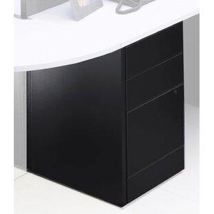 Global Total Office Adaptabilities 3-Drawer Freestanding File Pedestal