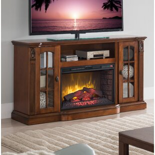 Devan TV Stand with Fireplace by Alcott Hill