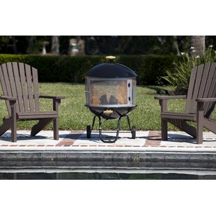 Fire Sense Bon Fire Steel Wood Burning Pa..