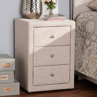 Leff 3 Drawer Nightstand