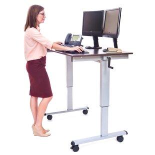 Belvedere Adjustable Standing Desk by Symple Stuff