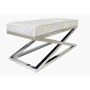 Cowhide Bench | Wayfair