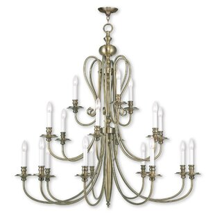Darby Home Co Echevarria 16-Light Chandelier